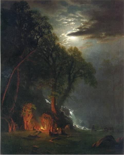 Campfire Site Yosemite